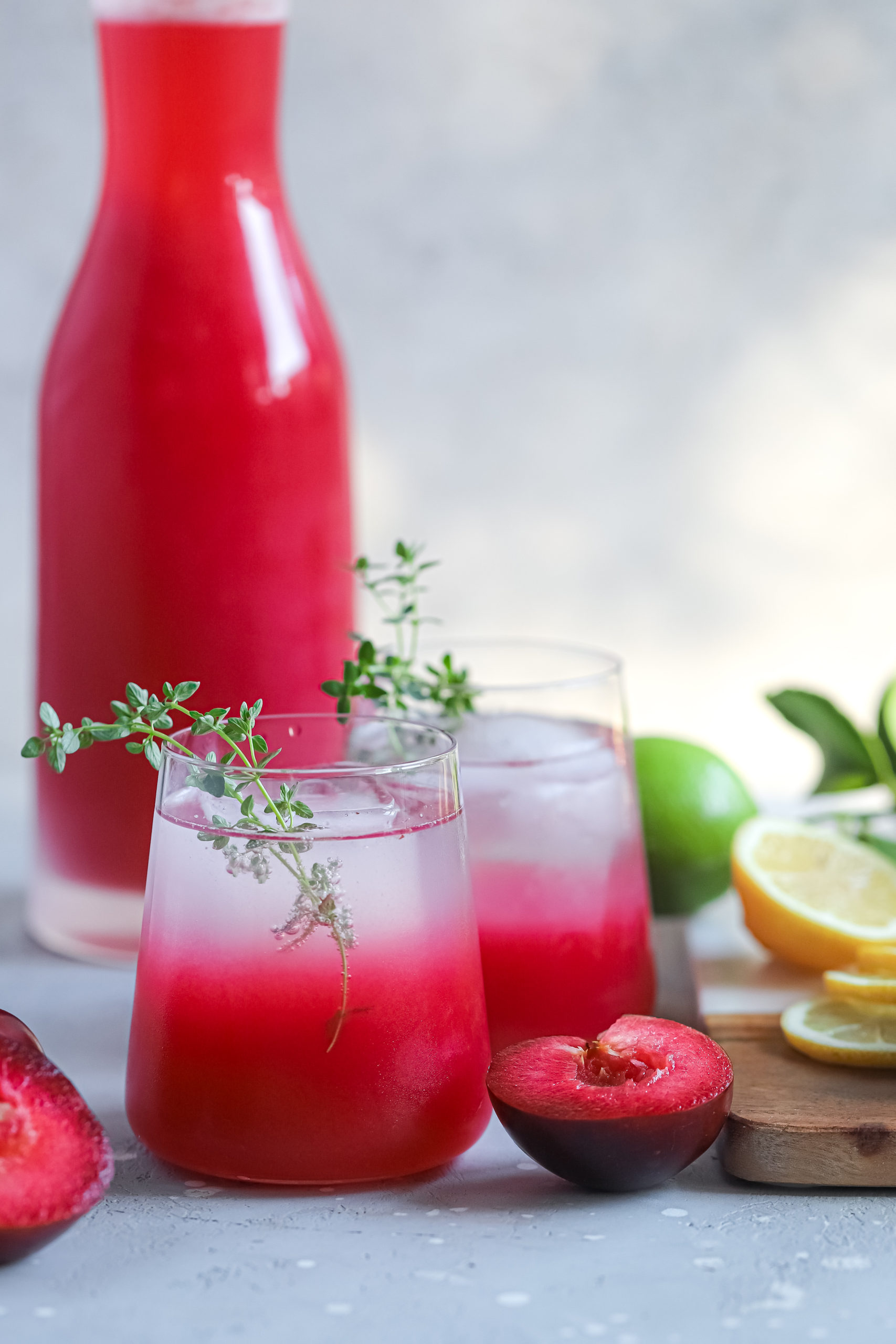 Plum and Fennel Lemonade Spritzer 2 scaled