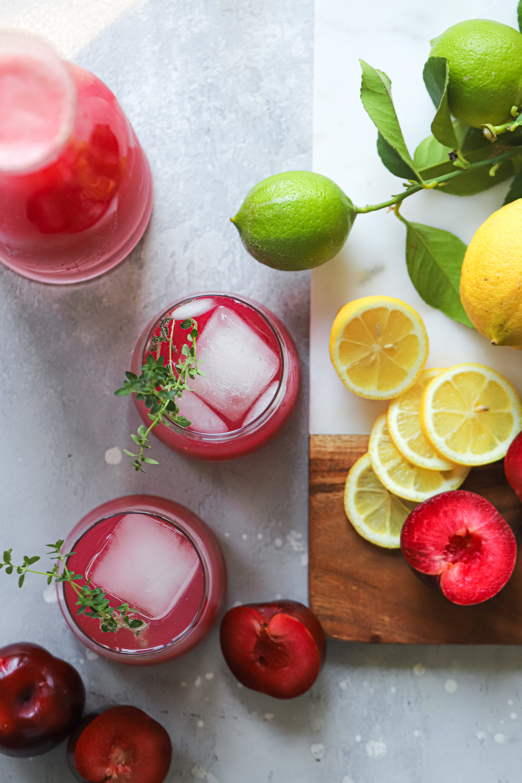 Plum and Fennel Lemonade Spritzer 4 scaled
