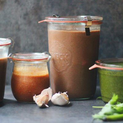 Mumbai Street Food Series-2 : 3 essential chutneys
