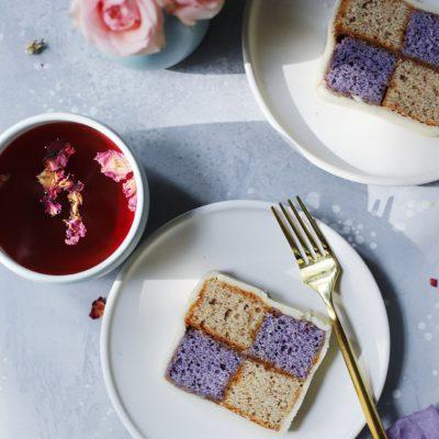 Spring Battenberg Cake