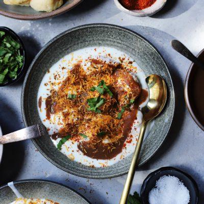 Mumbai Street Food Series : Dahi Wadas
