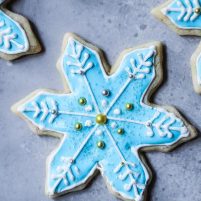 Day 1: Snowflake Sugar Cookie