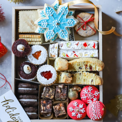 Cookie Box and Merry Christmas!