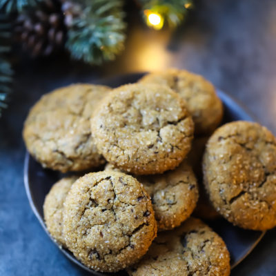 Day 2: Chocolate Ginger Molasses Cookies