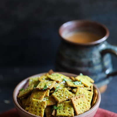 Spiced Bajra(Pearl Millet) Crackers