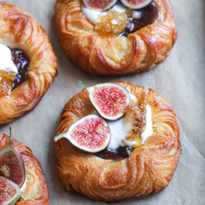 Fromage Blanc, Honeycomb and Fig Viennoiserie