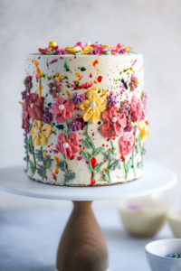 Thandai Holi Spring Cake