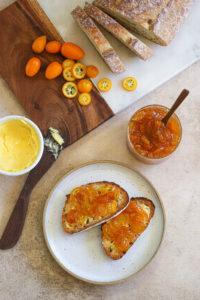 Kumquat and Ginger Marmalade