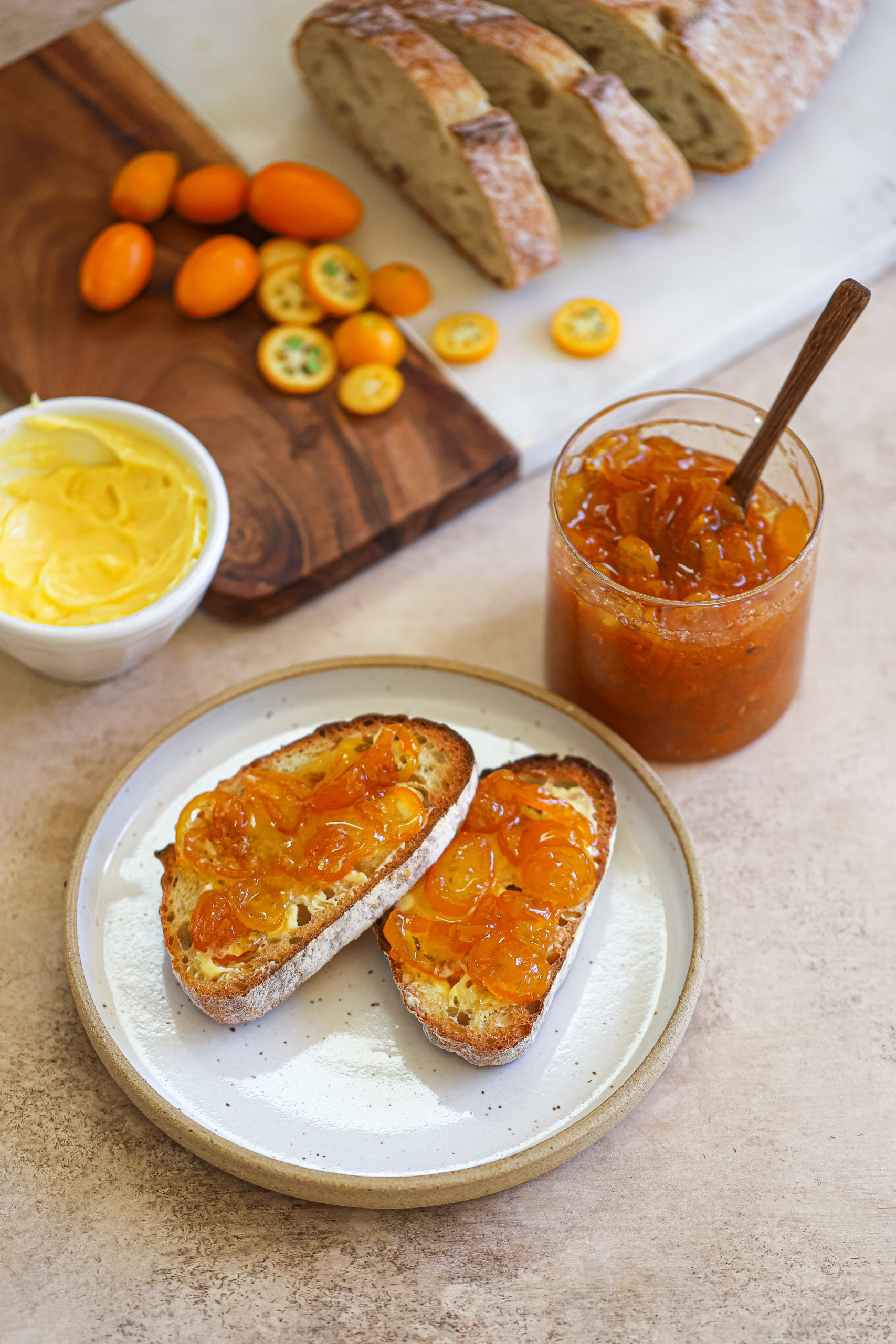 Kumquat and Ginger Marmalade