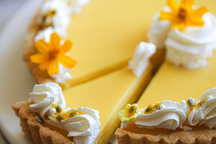 passion fruit tart