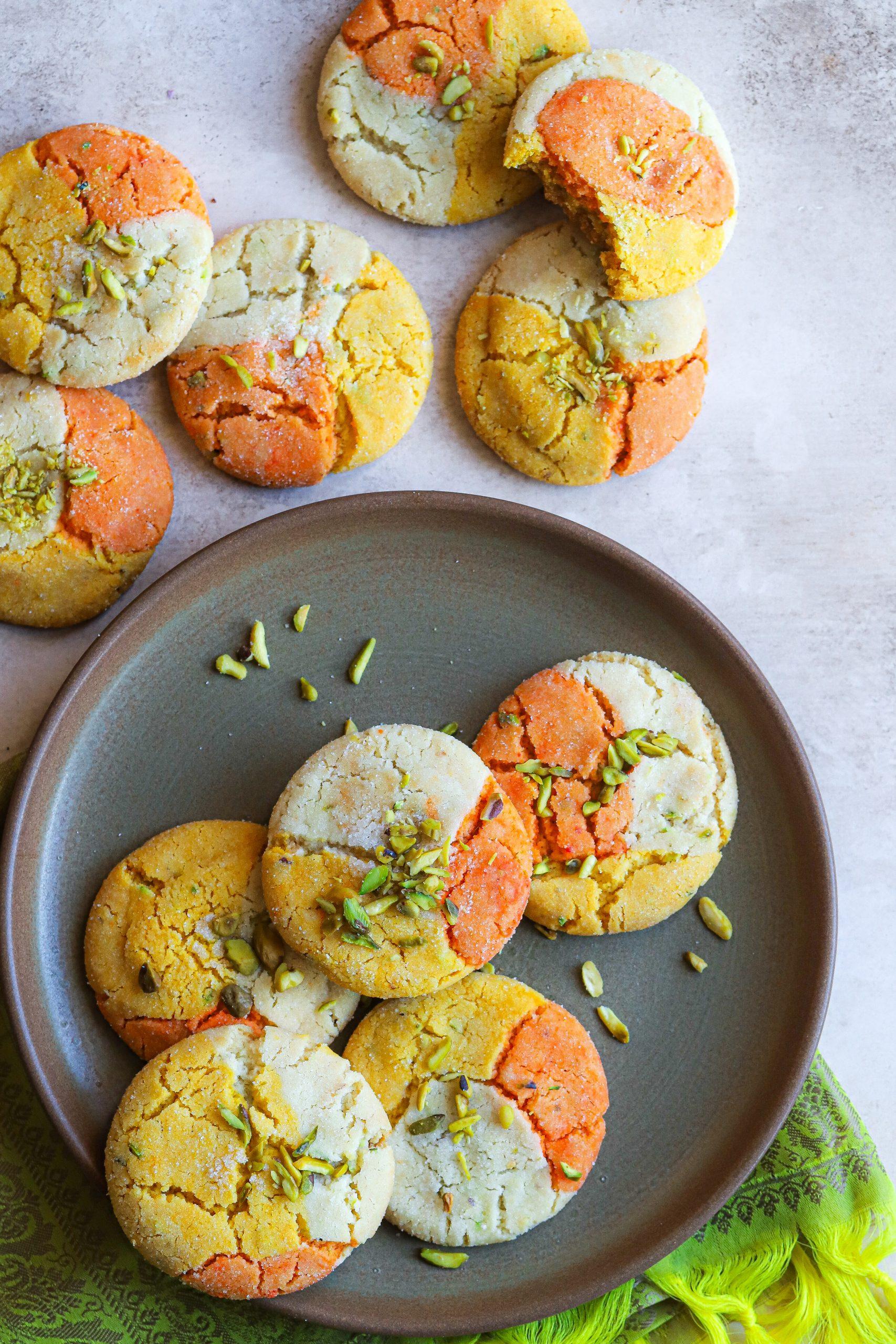 mango kesar shrikhand cookie