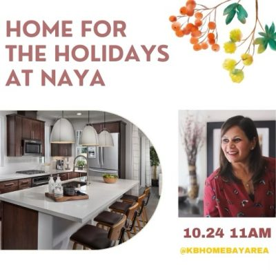 IG Live with KB Homes Bay Area THIS WEEKEND!